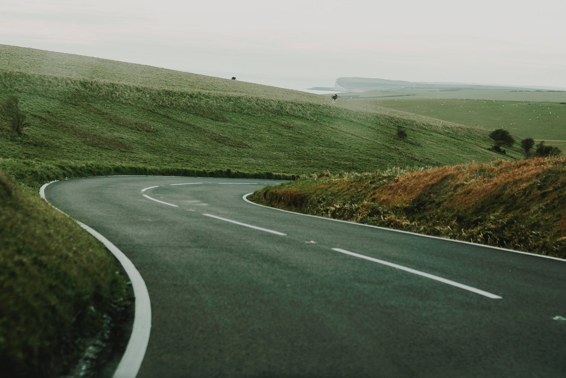 photo of an empty road